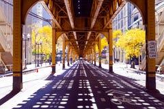 Rue de Chicago images stock