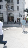 Rue de croisement de gens Photos libres de droits