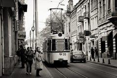 Rue de Cuza Voda dans Iasi Image libre de droits