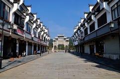 Rue de Dengfeng Image libre de droits