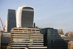 Rue de 20 Fenchurch Photo stock