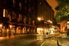 Rue de fleuve Images stock