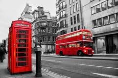 Rue de flotte, Londres, R-U Image stock