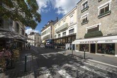 Rue de France, Fontainebleau, França fotos de stock