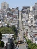 rue de Francisco Paul peter san d'église photos libres de droits