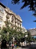 Rue de Gran Via La Grenade-Andalousie images libres de droits