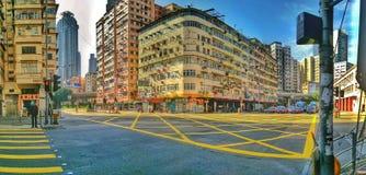 Rue de Hong Kong Images stock