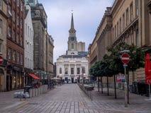 Rue de Hutcheson, Glasgow images stock