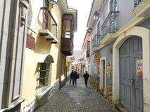 Rue de Jaen Photo stock