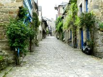 Rue de Jerzual Dinan Royalty-vrije Stock Afbeelding