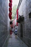 Rue de jinli de Chengdu vieille Images libres de droits