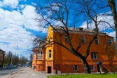 Rue de Karl Marx à Kaliningrad Images libres de droits