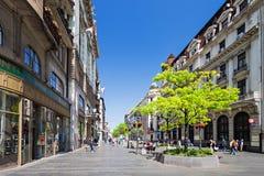 Rue de Knez Mihailova Photographie stock