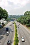 Rue de Kuala Lumpur Images libres de droits