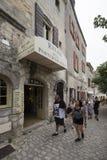 Rue de l'Église À l'Anc Mairie, Les Baux-de-Provence, France Stock Photos