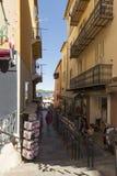 Rue de l'Église, Villefranche-sur-Mer, France Stock Photos