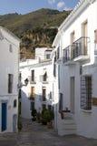rue de l'Andalousie frigiliana Photo libre de droits