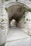 Rue de l'Église, Les Baux-de-Provence, France Stock Image