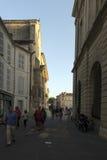 Rue de l'HÃ'tel de ville, Arles, Γαλλία Στοκ Εικόνες