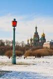 Rue de l'hiver - Pétersbourg Photo libre de droits