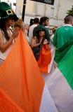 rue de l'Irlande patrick d'indicateur de jour Photo libre de droits