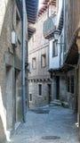 Rue de La Alberca Image stock