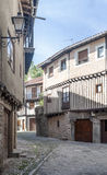 Rue de La Alberca Photographie stock
