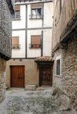 Rue de La Alberca Photographie stock libre de droits