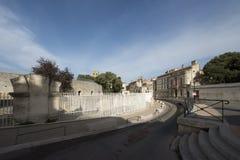 Rue de la Calade, Arles, Γαλλία Στοκ φωτογραφία με δικαίωμα ελεύθερης χρήσης