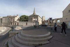 Rue de la Calade, Arles, Γαλλία Στοκ Εικόνες