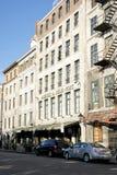 Rue de La Commune - Old Montreal royalty free stock image