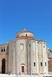 rue de la Croatie donat d'église zadar Photos libres de droits