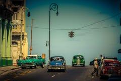 Rue de La Havane Images stock