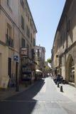 Rue de la Masse Aix-en-provence, Frankrike Fotografering för Bildbyråer