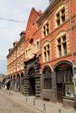 Rue de la Monnaie στη Λίλλη, Γαλλία Στοκ Εικόνες