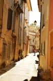 Rue de la Provence Photographie stock