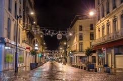 Rue de la Republique i Avignon, Frankrike fotografering för bildbyråer