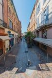 Rue de la Resistance in Montauban, France Stock Images