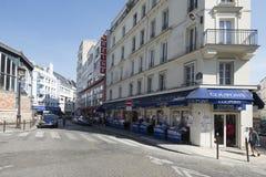 Rue de la Roquette, Paris, France Royalty Free Stock Image