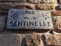Rue de la Sentinelle Stock Photo