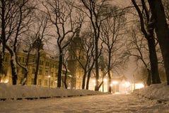 Rue de la vieille ville Photos libres de droits