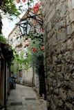 Rue de la vieille ville Photo libre de droits