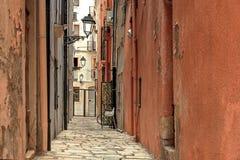 Rue de la vieille ville de Tarragone en Catalogne Espagne images stock