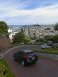 Rue de Lombard à San Francisco Photographie stock libre de droits