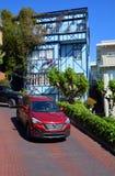 Rue de Lombard Photos stock