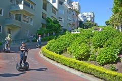 Rue de Lombard Photo libre de droits