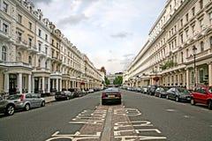 Rue de Londres image libre de droits