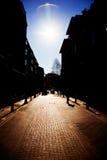 Rue de Londres dans le jardin de Covent Image stock