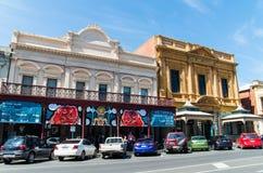Rue de Lydiard dans l'Australie de Ballarat Photos stock