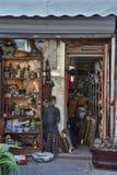 Rue de magasin de substance d'antiquité de Changhaï vieille image stock